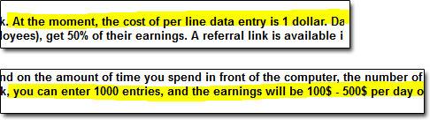 WorkingMob Earnings Claims