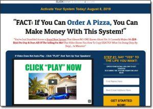 12 Minute Affiliate System Website Screenshot