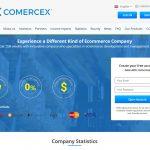 Comercex Website Screenshot