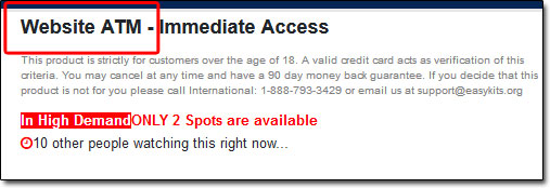 Income Sites Online Payment Page