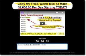 Income Sites Online Website Screenshot