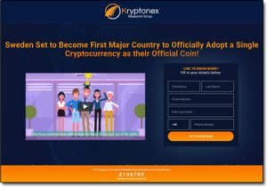 Kryptonex Research Group Website Screenshot