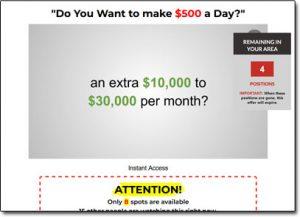 My Home Cash Club System Website Screenshot