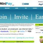 TheMiniPay Website Screenshot