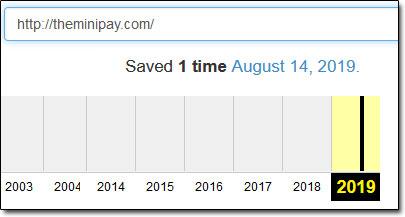 TheMiniPay Internet Archive Screenshot