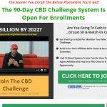 90 Day CBD Challenge Website Screenshot