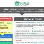 eCom Success Academy Website Screenshot