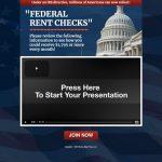 Federal Rent Checks Website Screenshot
