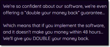 Atomic DFY Money Back Guarantee