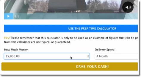 Cash Grab Calculator
