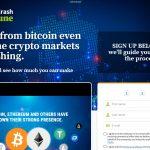 Crypto Cash Fortune System Website Screenshot