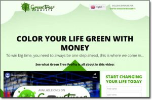 Green Tree Profits System Website Screenshot