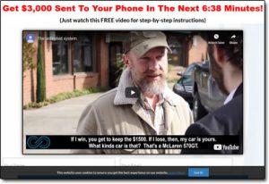 Infinity App Website Screenshot