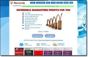 MyAddsUp Website Screenshot