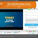 Profit Revolution System Website Screenshot