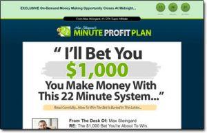 22 Minute Profit Plan Website Screenshot