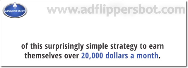 Ad Flippers Bot Income Claim