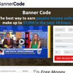 The Banner Code System Website Screenshot