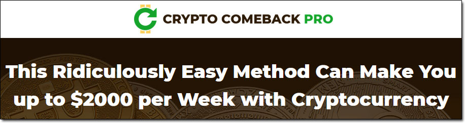 Crypto Comeback Pro Claims