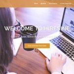 HireSine Website Screenshot