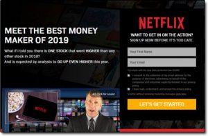 Netflix Revolution System Website Screenshot