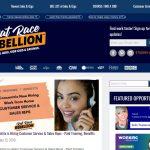 Rat Race Rebellion Website Screenshot