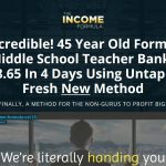 The Income Formula Website Screenshot