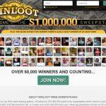 Winloot Website Screenshot