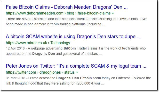 Bitcoin Compass Dragons' Den