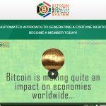 Bitcoin South African System Software Website Screenshot