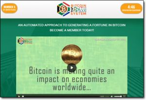Bitcoin South African System Software Website Screenshot