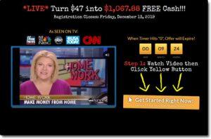 Millionaire Biz Pro Website Screenshot