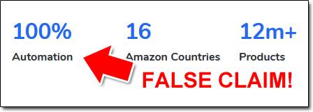 False Claim MadeBy Novelty Site Builder