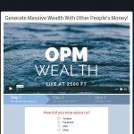 OPM Wealth System Website Screenshot