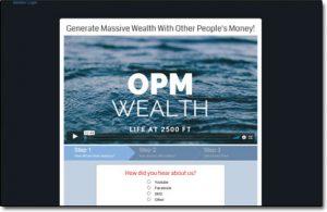 OPM Wealth Website Screenshot