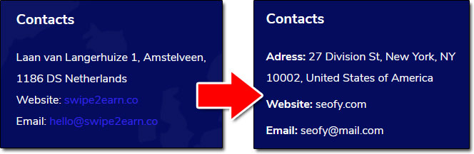 Swipe 2 Earn Address