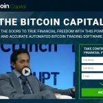 The Bitcoin Capital Software Website Screenshot