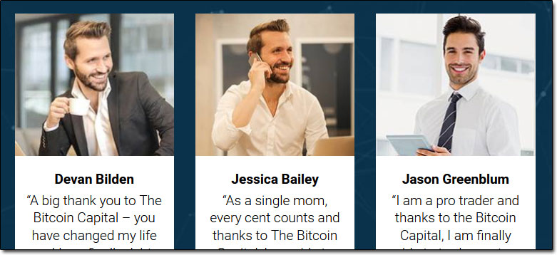 The Bitcoin Capital Testimonials