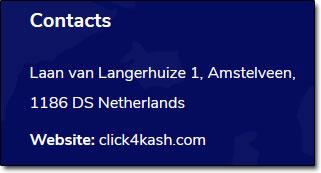 Click4Kash Address