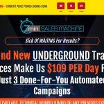 7min Sales Machine Website Screenshot