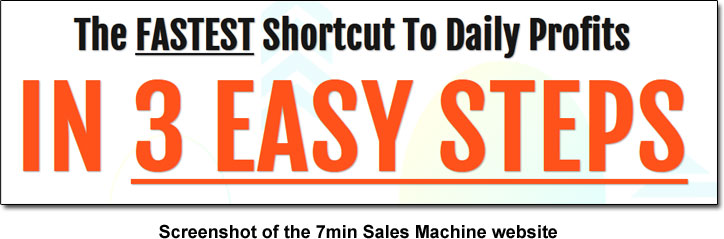 7min Sales Machine Shortcut Claim