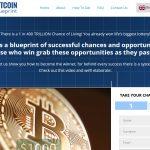 Bitcoin Blueprint Trading System Website Screenshot