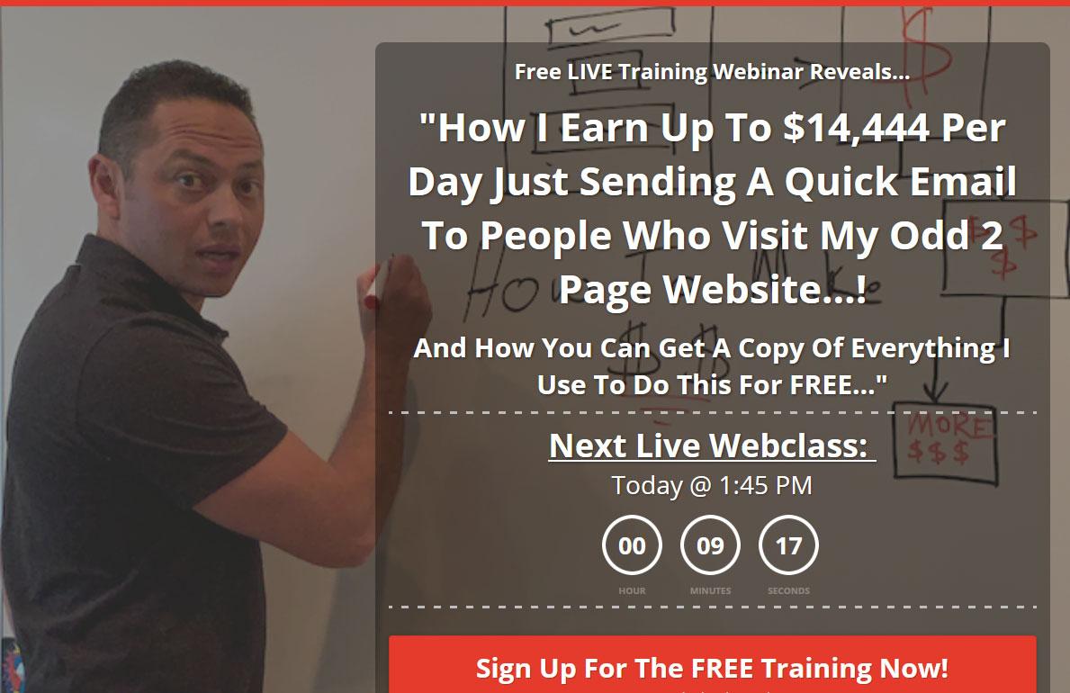 1K A Day Fast Track Website Screenshot