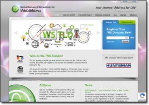 Global Domains International Website Screenshot