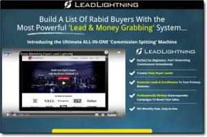 Lead Lightning Website Screenshot