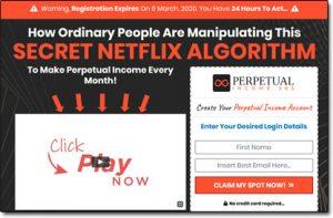 Perpetual Income 365 Website Screenshot