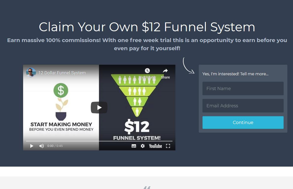 Prosperity Marketing System Website Screenshot