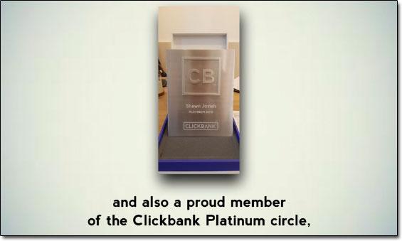 Shawn Josiah ClickBank Platinum Circle
