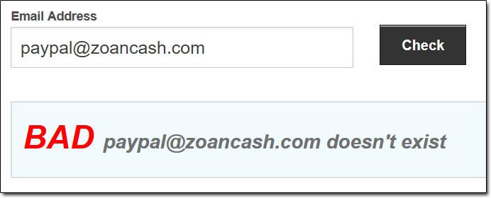 ZoanCash PayPal Email