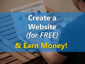 Create a Website For Free & Earn Money